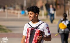 Roller skates, accordions, and burritos: Senior's spontaneity is his path to a life without regrets