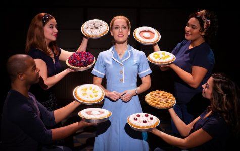 Bailey McCall as Jenna, and Company in the National Tour of