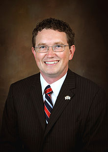 Rep. Thomas Massie (R-KY) who was bankrolled by 21-year-old