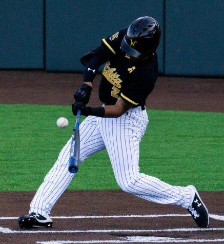 Shocker baseball stretches winning streak to 12 in walk-off fashion