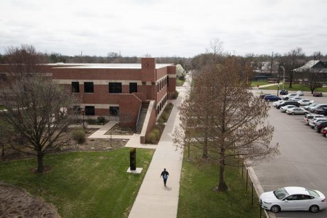 Wichita State's campus has been largely empty since it shut down to slow the spread of the coronavirus in March. The university will start Phase II of its reopening plan Tuesday.