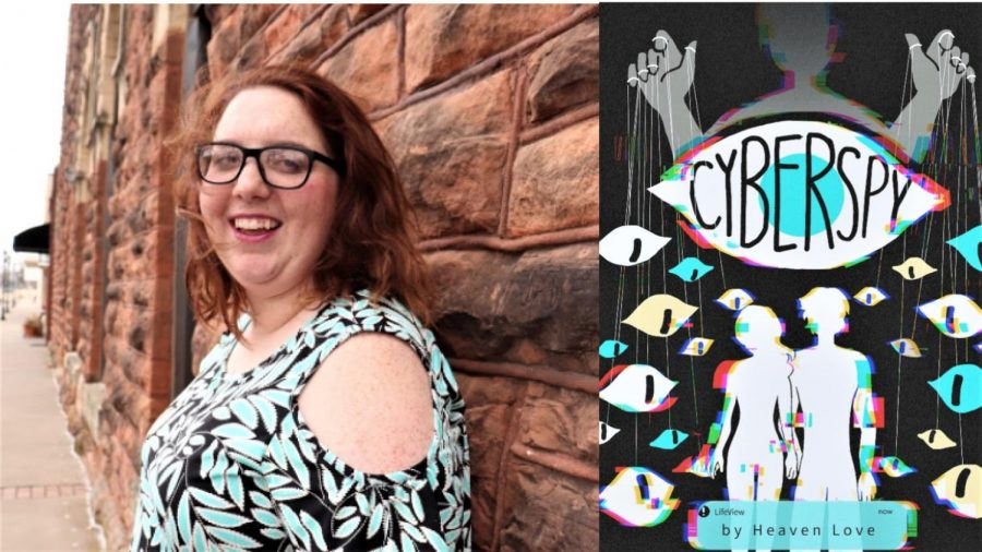WSU student Heaven Love self-published her first book Cyber Spy, which is set to release April 4. This is the first book in the series.