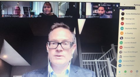 The Wichita State Faculty Senate held a Zoom meeting on Monday, April 13.