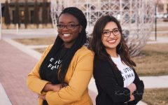 Courtney Price-Dukes and Mirabel Sanchez are running for SGA vice president and president.