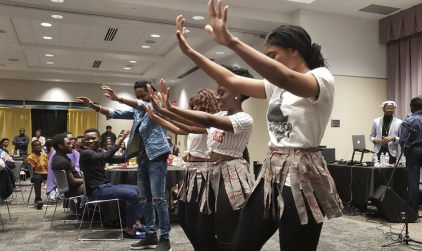 International students participate in the Taste of Africa event hosted by the African Student Association in November 2019. International students may not be able to return to campus for fall 2019, and according to the Office of International Education, no new international students will be able to attend WSU for summer sessions due to Visa restrictions from COVID-19.