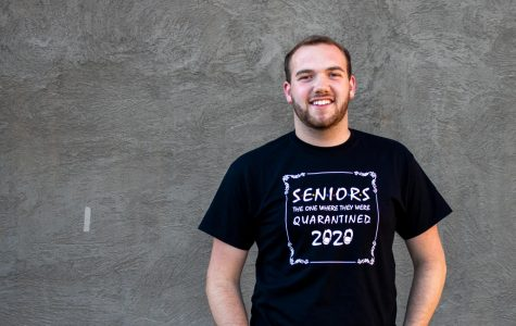 Senior Austin Nordyke is planning his own in-person graduation ceremony with his roommates because WSU's ceremony was moved online.