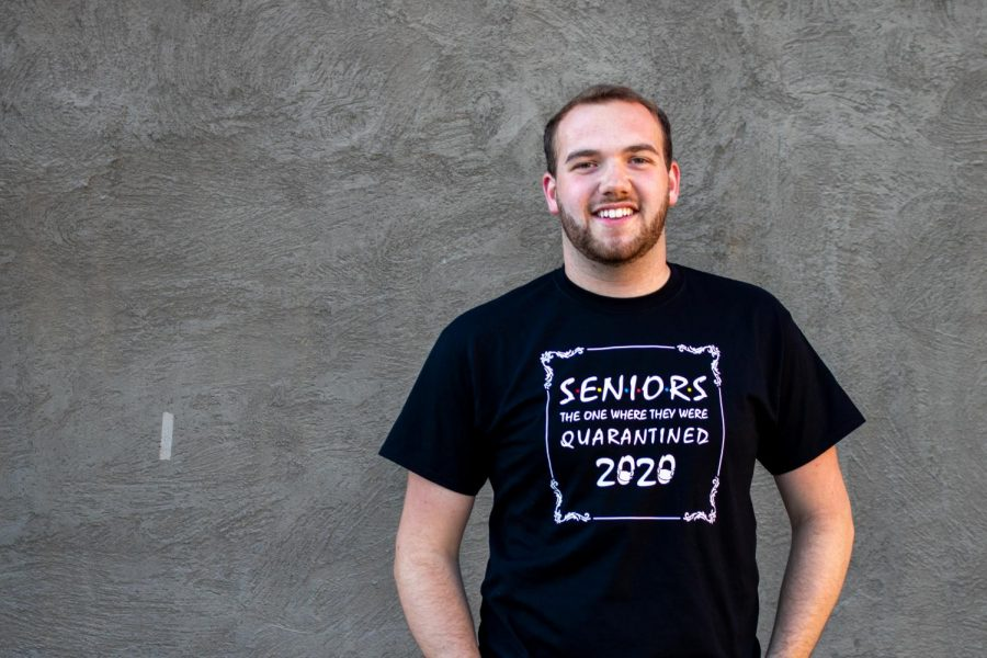 Senior+Austin+Nordyke+is+planning+his+own+in-person+graduation+ceremony+with+his+roommates+because+WSU%E2%80%99s+ceremony+was+moved+online.