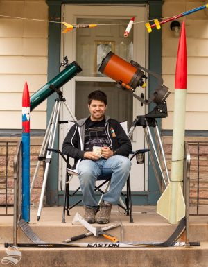 Joe McGillian is a senior majoring in aerospace engineering.