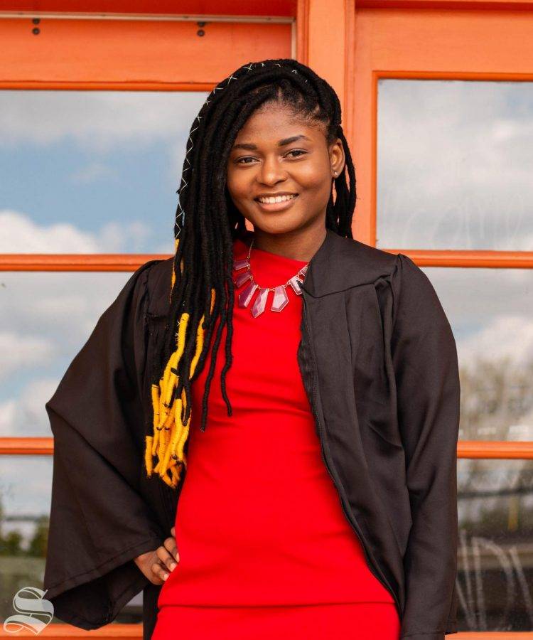 Boluwatife Kehinde is a senior majoring in industrial engineering.