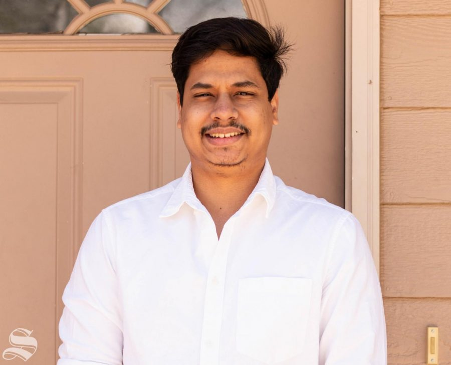 Shivtej Utekar is receiving a master's of science in industrial engineering.