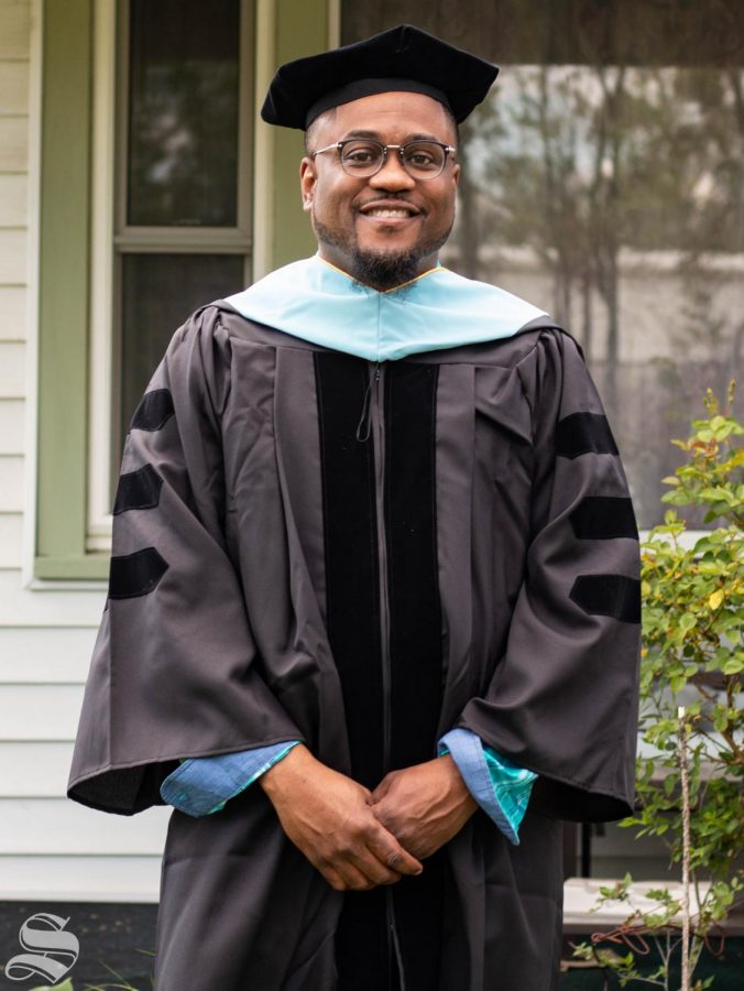 Kevin Sylvester Harrison is receiving a doctorate in educational leadership.