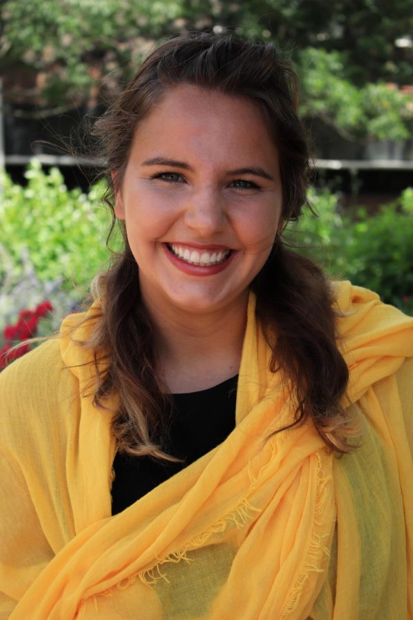Colleen Ostermann has served as the Student Government Association's treasurer since July 2019. She is resigning her post on July 9.