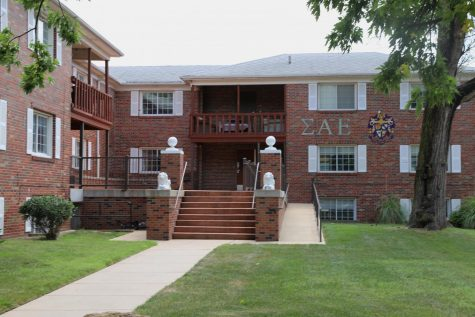 Police responded Wednesday night to a report of an aggravated robbery at Sigma Alpha Epsilon house, 1714 N. Fairmount.