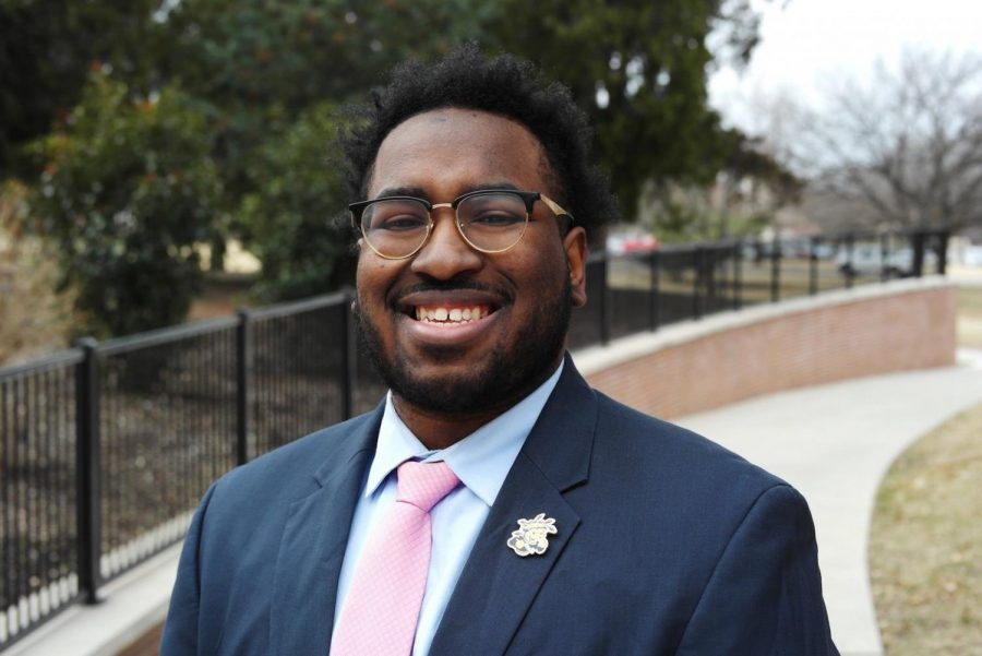 Student Sen. Zach James is the Student Government Association's new interim treasurer. The Student Senate will vote to confirm his appointment in August.