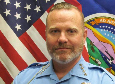 Rodney Clark, chief of the Wichita State University Police Department