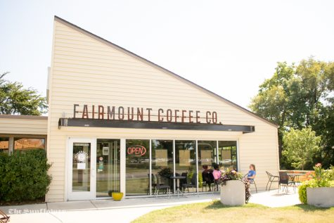 Fairmount Coffee is across from the university on 17th Street. The cafe has a wide selection of coffee and seasonal flavors, as well as sandwiches, wraps, and baked goods.