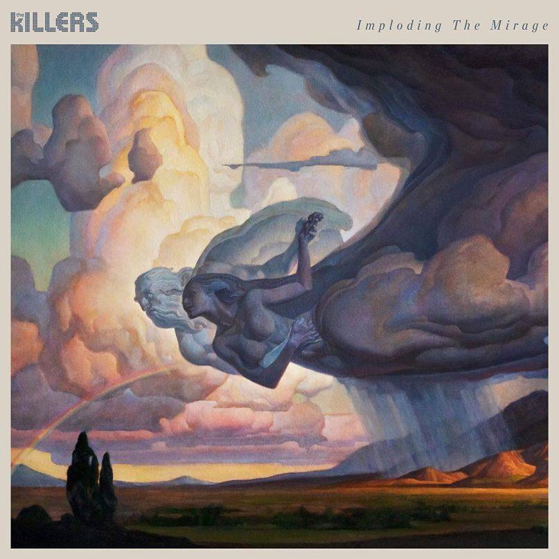 %22Imploding+the+Mirage%22+album+cover+art.+The+Killers%27+latest+album+was+released+on+August+21.