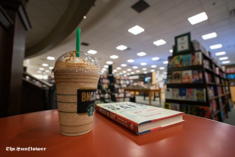 Barnes and Nobles is a great study spot because it