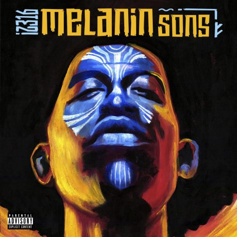 """Melatonin Sons"" album cover art. Sean ""IZ316"" Gates, a Wichita native, uses music to bring awareness to underprivileged communities and to spread his philosophies to those who need hope."