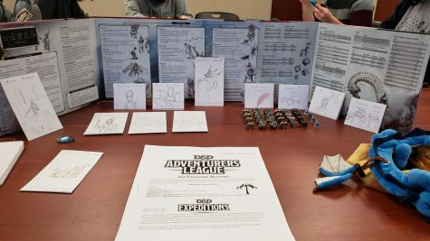"D&D is a role-playing table-top game known for its multitude of rules, but Taskinen says it's not as complicated as it seems. ""The game is not nearly as complex as it looks. One of the nice things about D&D is that you can play it in different ways,"" Taskinen said. ""If you like playing by the rules you can go through the player's handbook and play exactly by the rules."""
