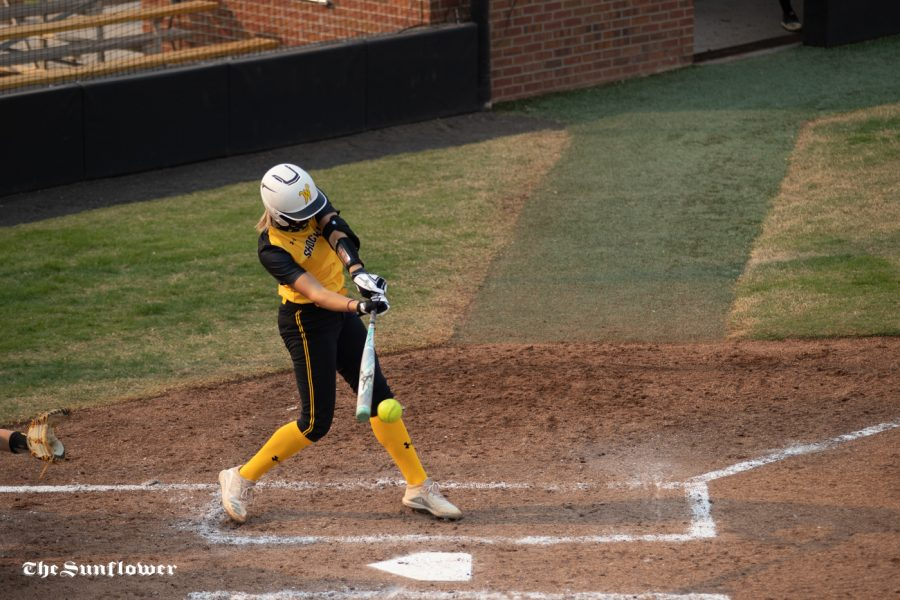 Offense takes a step up at Shocker Softball scrimmage