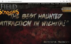 Screen shot of the Fields of Screams website, scaryprairiepines.com.