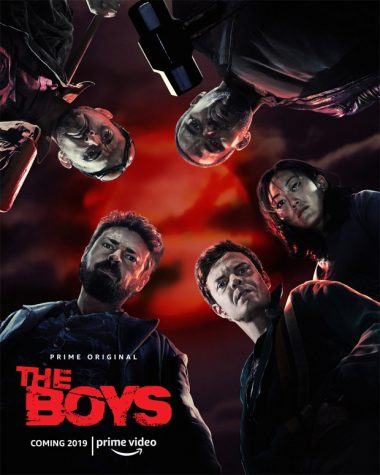 """The Boys"" series poster."