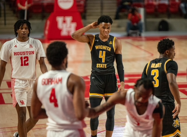 Shockers drop first conference game to No. 11 Houston