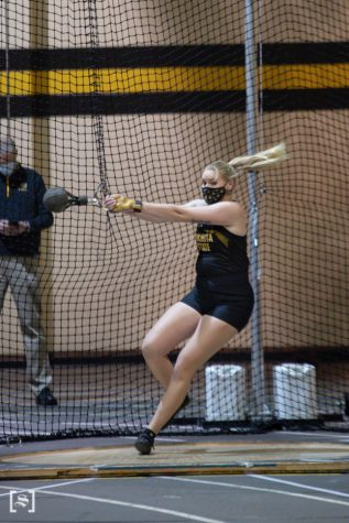 Three Shockers set Top-25 marks at Track and Field's Shocker Invitational