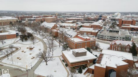 Campus to remain closed Tuesday due to weather, possible power outages