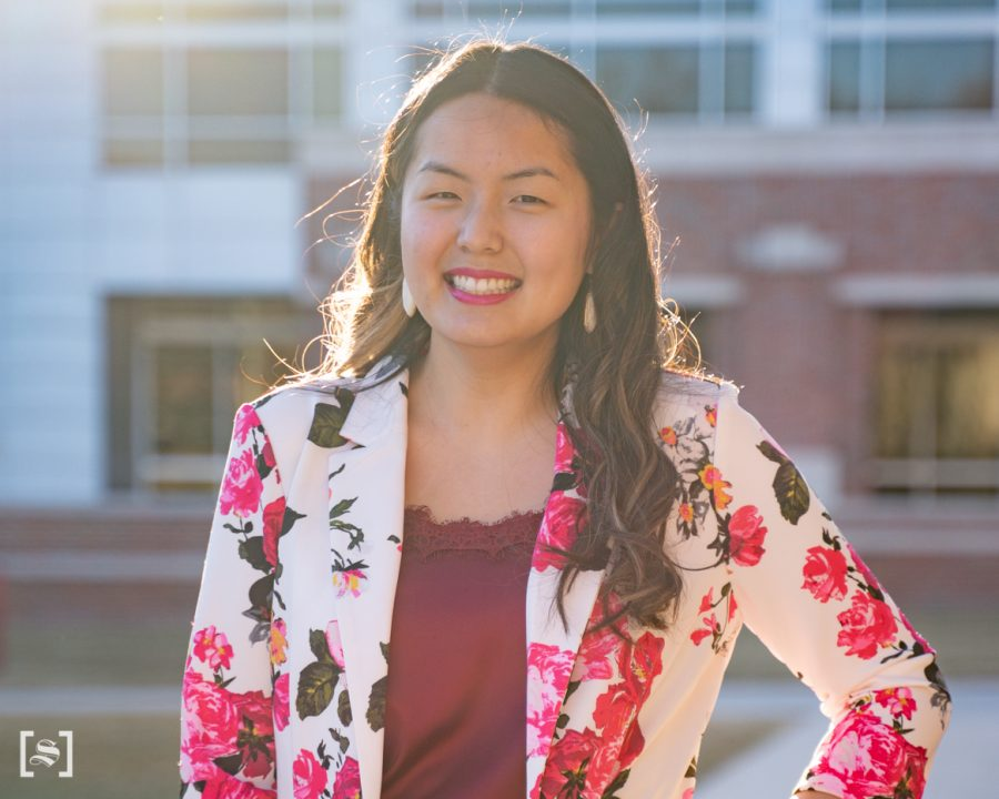 Angelique Banh is of the two winners for the women's innovation award. Banh is a graduate student in business administration.
