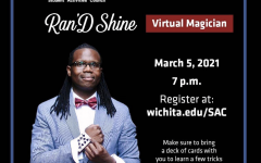 Ran'D Shine virtually preformed his magic for WSU students.