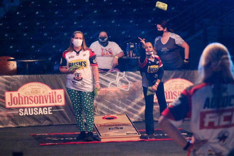 PHOTOS: Wichita State hosts ACL cornhole tournament