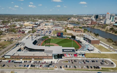 Riverfront Stadium, home of the Wichita Wind Surge, held its first game on April 10.
