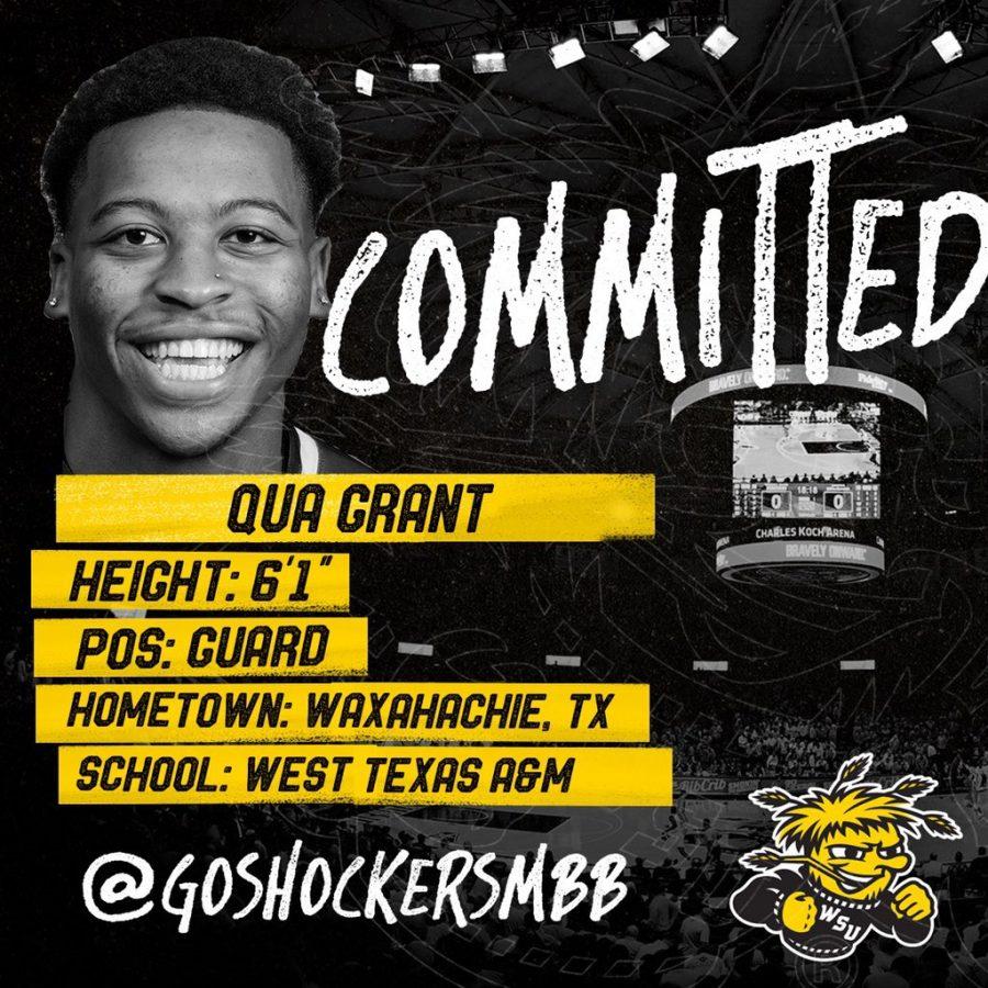 Qua Grant commits to Wichita State