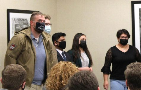 SGA senator sworn in wearing 'white lives matter' mask was arrested in 2015 for threatening to attack courthouse