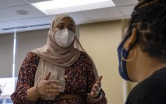 Saniya Ahmed is a senior graduating in May. After graduation, she hopes to pursue her master's in public health.