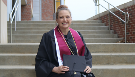 Heather Hill loves being a wife and mom. But she's getting a degree for herself