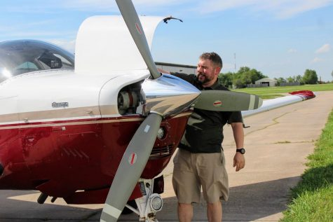 WSU alumnus John Goerzen took his first volunteering job in March as a pilot with Angel Flight – an organization that provides free medical transportation, for people that need non-emergency transport to medical appointments.