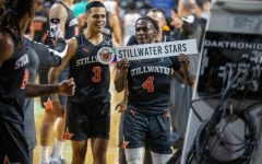 The Stillwater Stars celebrate following their come from behind victory during the Wichita Regional on Saturday, June 17.