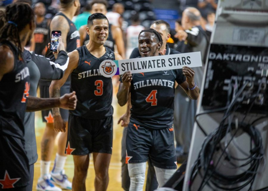 The+Stillwater+Stars+celebrate+following+their+come+from+behind+victory+during+the+Wichita+Regional+on+Saturday%2C+June+17.