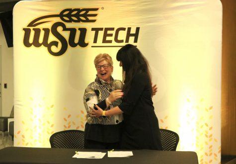 WSU Tech President Sheree Utash and dean of WSU