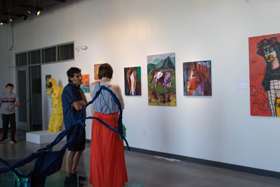 Wichita States ShiftSpace Gallery hosts an opening reception for From Lima to Wichita on July 2nd.