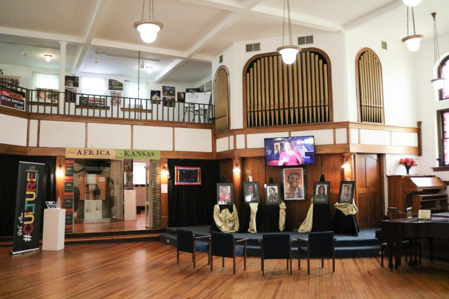 The African American Museum used to be a church so they kept the organ and built their exhibits around the original floor plan on July 27.