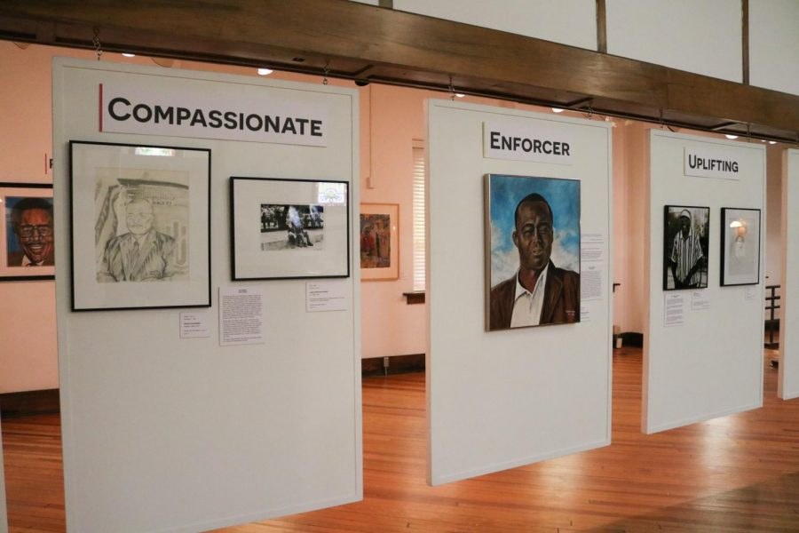 The African American Museum has an exhibit with local artists art to put on display and they change the gallery every month July 27.