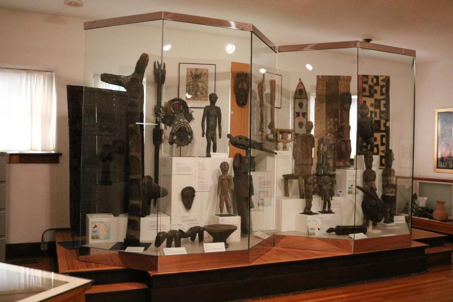 The African American Museum has an exhibit From Africa to Kansas of artifacts from Africa and explains how got the artifacts in Kansas on July 27.