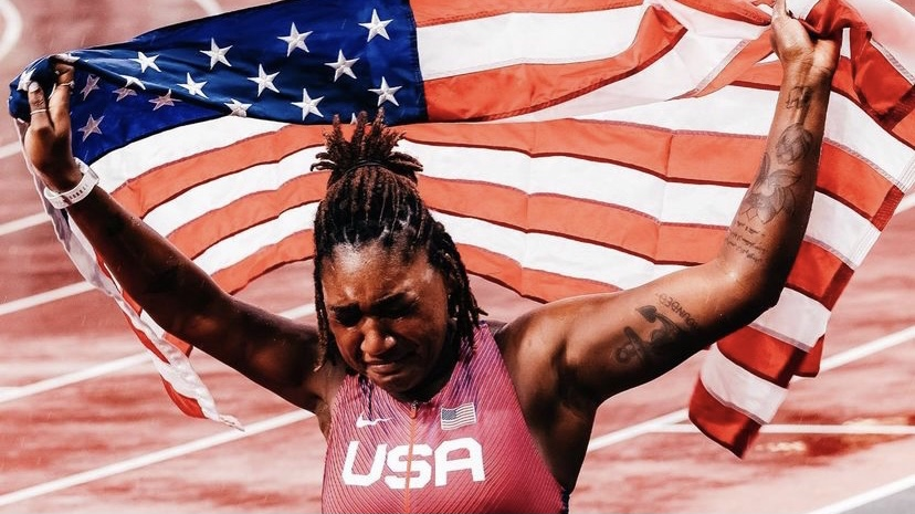 Former Shocker Deja Young wins bronze medal in T47 100 meters