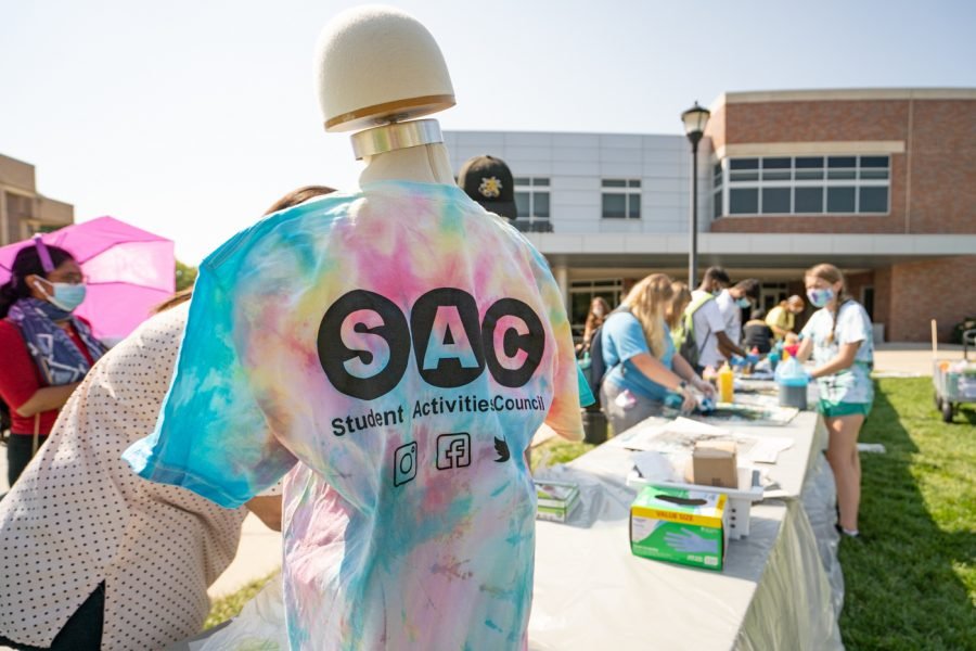 SAC hosted Tie-Dye Tuesday on Sept 7. The event was held in front of the RSC.