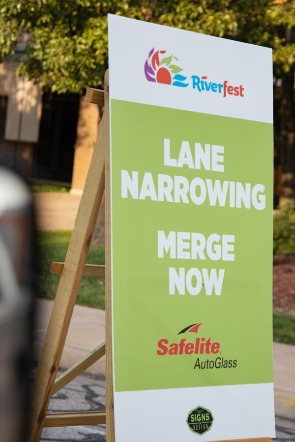 The Riverfest reverse parade on Oct. 1, 2021.