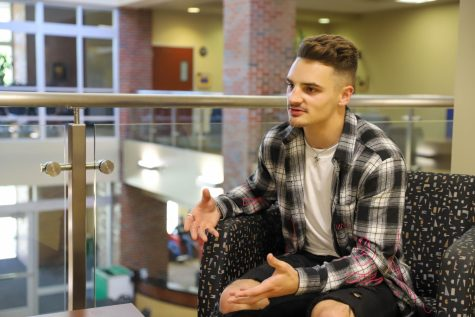 Aaron Tollefson, a sophomore in Sport Management, describes his first year at Wichita during COVID-19.